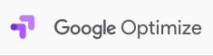 Het logo van Google Optimize