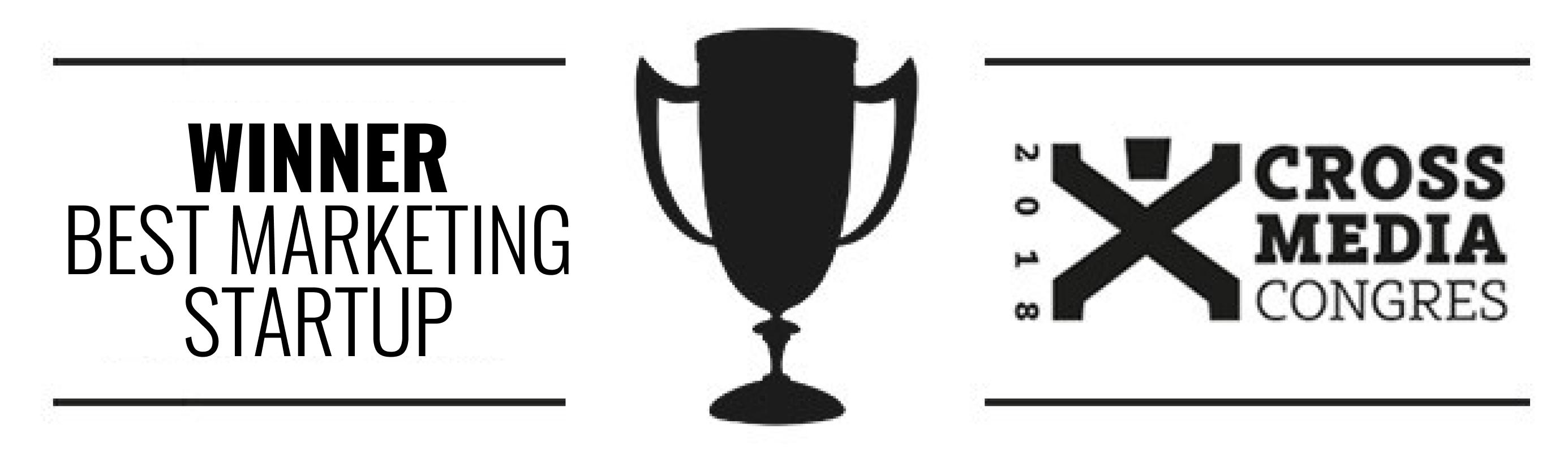 Gewinner des besten Marketing-Startups 2018